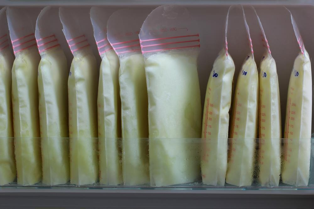 Place the bags at the back of the refrigerator or freezer