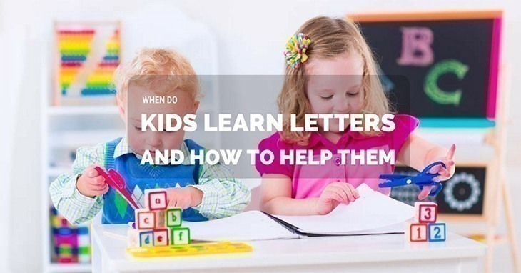 When Do Kids Learn Letters