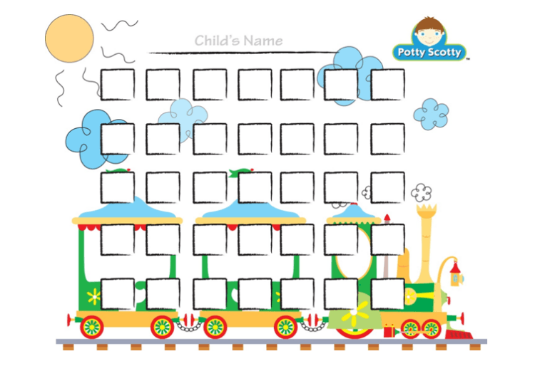 potty train chart