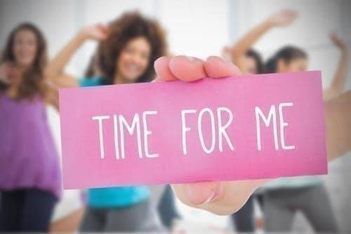 Have Your 'Me Time'