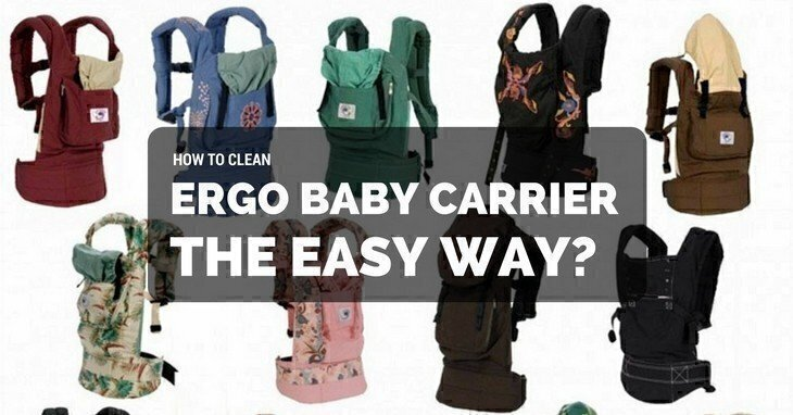 How To Clean Ergo Baby Carrier