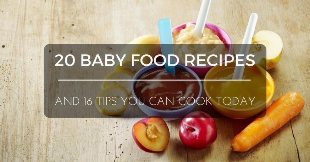 20 baby food recipes and 16 tips you can cook today baby food recipe forumfinder Gallery